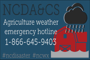 Agriculture Weather Hotline 1-866-645-9403
